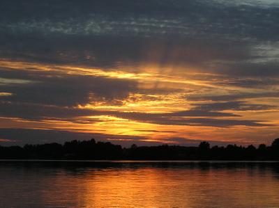 Sunsetjewellake